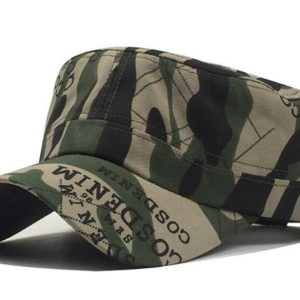f2cd39c2 Adult Chapeau Adjustable Cadet Style Ultra Thin Breathe Flat Top Military  Cap Camouflage Hats Men Women Summer Military Hats