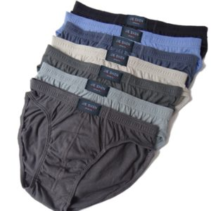 100% Cotton Briefs Mens
