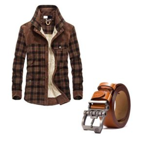 Men's Jacket Belt Bundle 1 | Winter-Hipster-Jacket-and-Belt