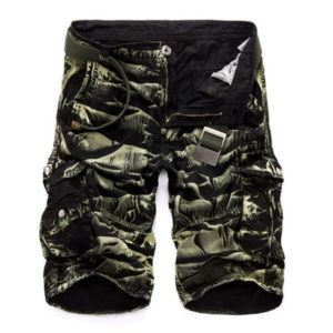 Mens Military Cargo Shorts 2020 Brand New Army Camouflage Shorts Men Cotton Loose Work Casual Short Pants No Belt