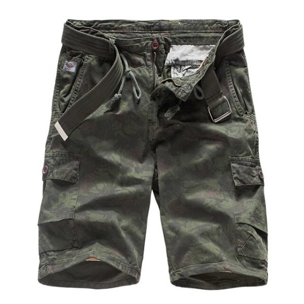 100% Cotton Camouflage military Cargo Shorts Men 2020 New Arrival Casual Mens Loose Work Cargo Shorts Male Short Pants hombre