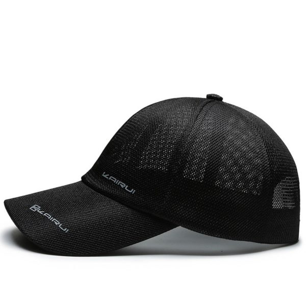 2020 new fashion baseball cap men's spring and summer shade sun protection hats outdoor sports breathable fashion mesh caps