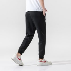 Men's Sweatpants Casual Track Trousers Joggers Fitness Elastic Waist Pants Sports Painted Letter Drawstring Clothing K3010