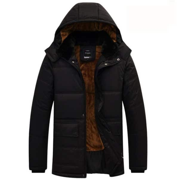 2020 New Men Jacket Coats Thicken Warm Winter Windproof Jackets Casual Mens Down Parka Hooded Outwear Cotton-padded Jacket