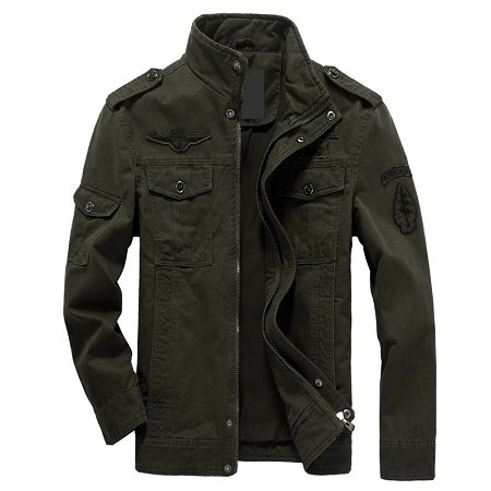 6XL Men Jacket Jeans Military Army soldier Outerwear Cotton Male Brand Clothing 2020 Spring Autumn Mens Bomber jackets
