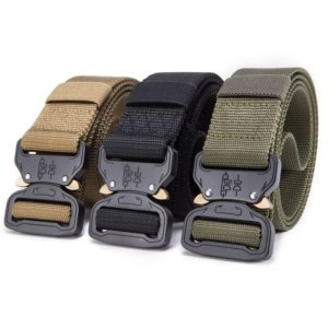New Nylon Belt Men Army Tactical Belt Molle Military SWAT Combat Belts Knock Off Emergency Survival Waist Tactical Gear Dropship