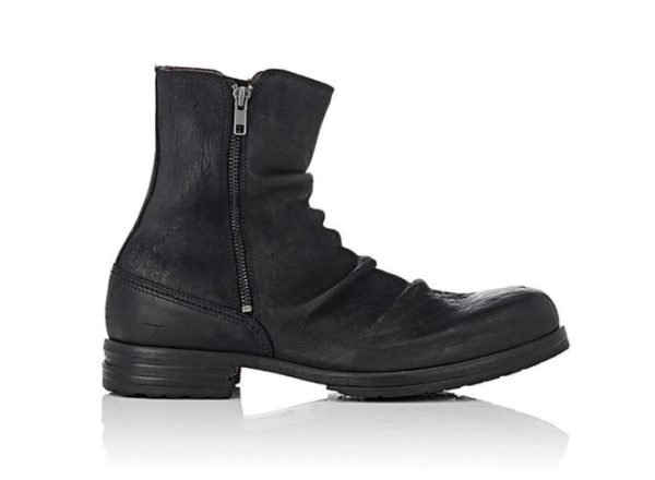 Men's Retro Multiple Buckle Retro Ankle Boots-Black Friday Brogue Shoes Spring Vintage Classic Male Casual YK464