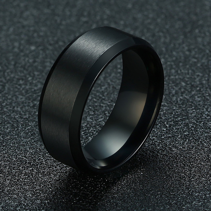 Classic Stainless Steel Rings for Men