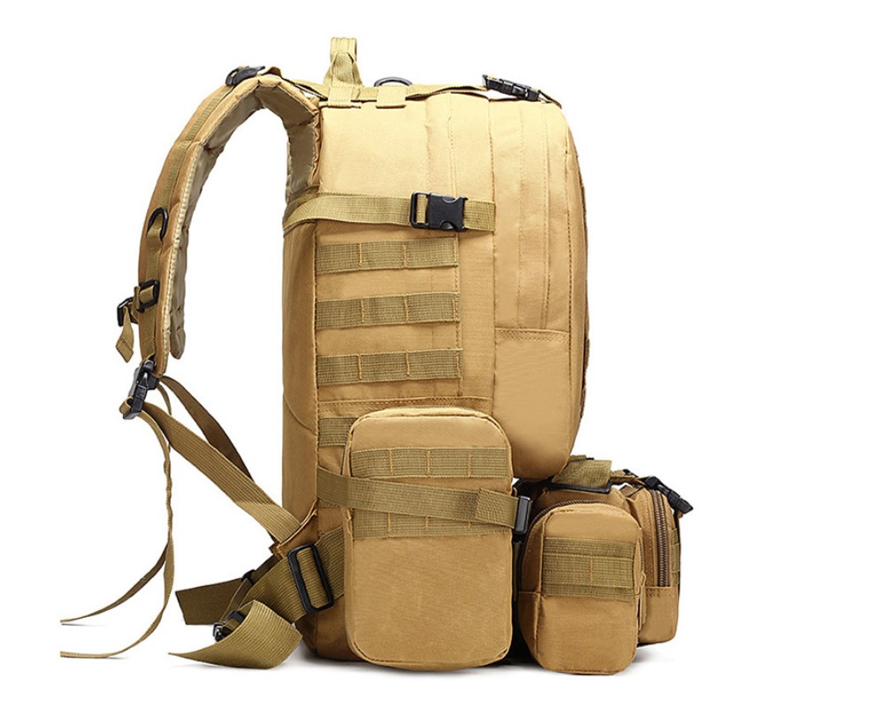 Men's 4 in 1 Tactical Style Multi-Pocket Backpack