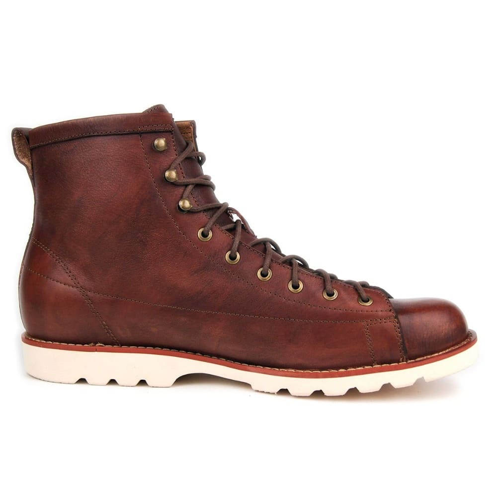 OTTO HOT Sale 2018 NEW Spring Men Boots Casual Boots Men Ankle Boots Vintage Brogue College Style Men Shoes Fashion Lace-up Warm